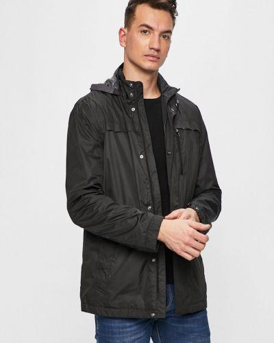 Утепленная куртка с капюшоном укороченная Geox