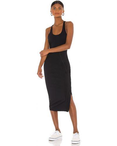 Черное платье на молнии для фитнеса Vimmia