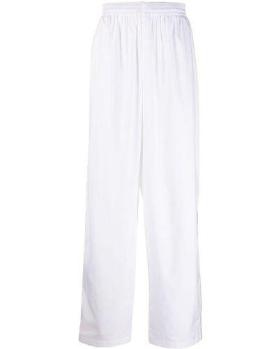 Białe spodnie Balenciaga