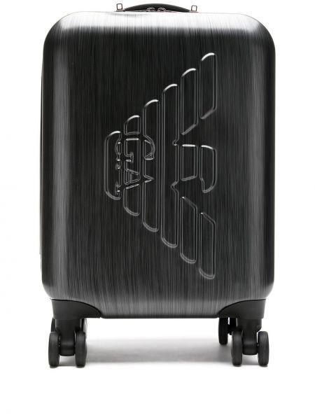 Черный чемодан Emporio Armani