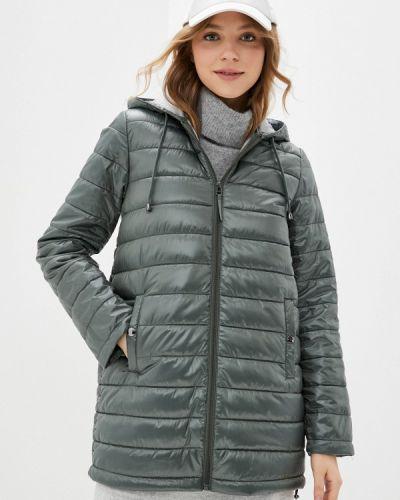 Утепленная куртка хаки снежная королева