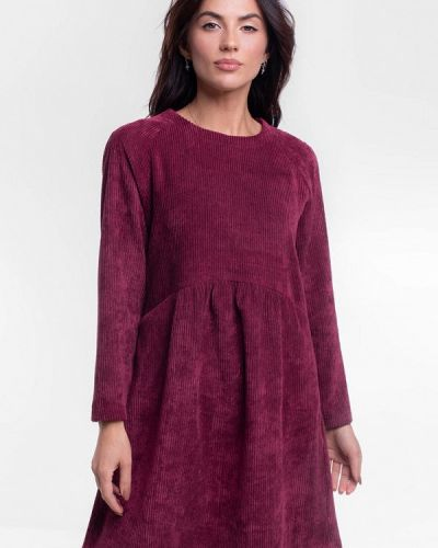 Прямое красное платье Bessa