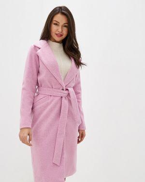 Пальто демисезонное розовое Trendyangel