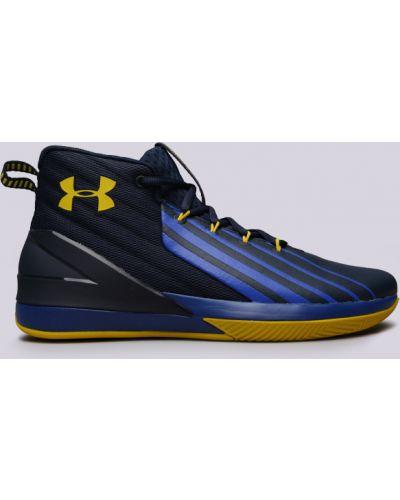 Синие кроссовки баскетбольные Under Armour