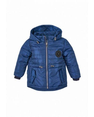 Синяя куртка теплая Одягайко