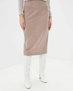 Облегающее платье розовое осеннее Imago