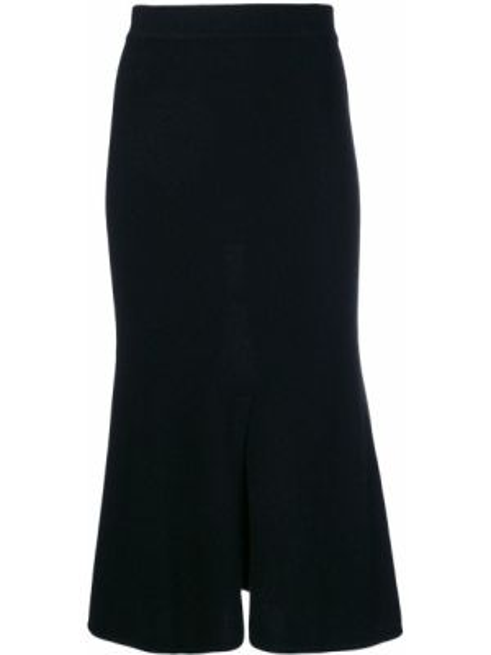 Шерстяная юбка - черная Cashmere In Love
