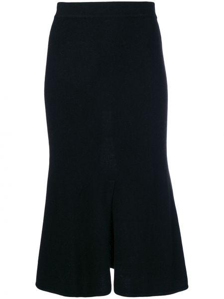 Черная расклешенная юбка Cashmere In Love