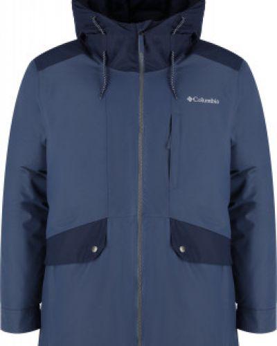 Синяя куртка осенняя Columbia