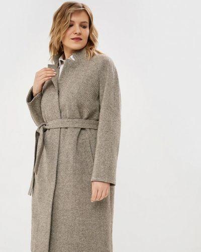 Пальто демисезонное бежевое симпатика
