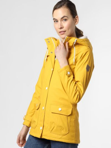 Żółta kurtka Derbe