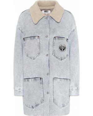 Джинсовая куртка синий куртка-жакет Mm6 Maison Margiela