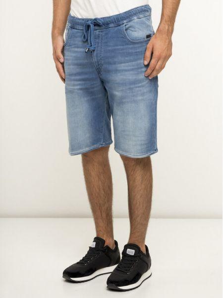 Szorty jeansowe - niebieskie G-star Raw