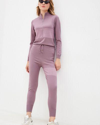 Фиолетовый брючный комбинезон Hey Look