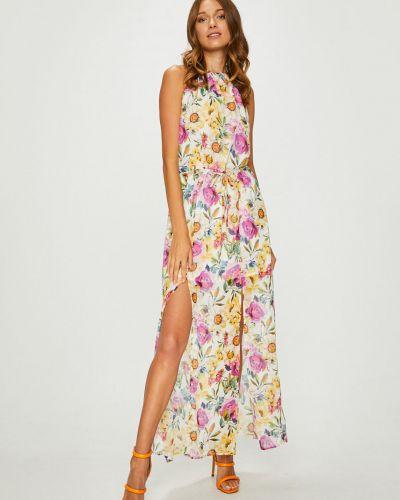 Платье макси прямое с разрезом Answear
