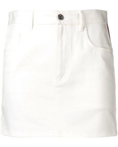 Юбка мини джинсовая на пуговицах Miu Miu