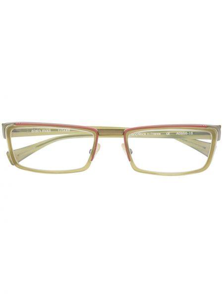 Oprawka do okularów zielony Alain Mikli
