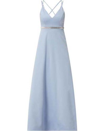 Sukienka wieczorowa w paski - niebieska Jake*s Cocktail