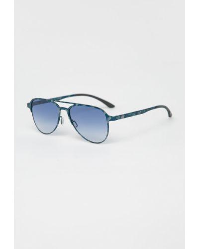 Солнцезащитные очки синий Adidas Originals