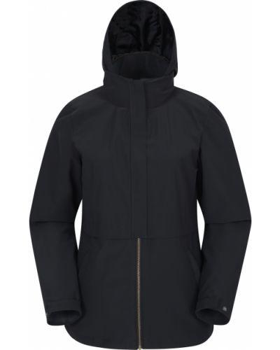 Czarna kurtka materiałowa Mountain Warehouse