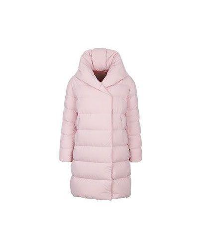 Розовый пуховик зимний Add