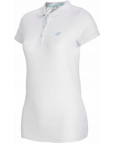 T-shirt bawełniana - biała 4f