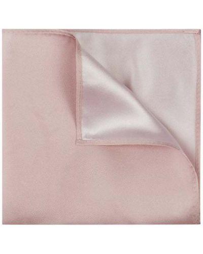 Jedwab różowy chusteczka Monti