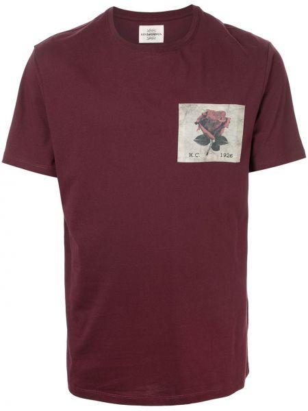 Koszula krótkie z krótkim rękawem prosto z logo Kent & Curwen