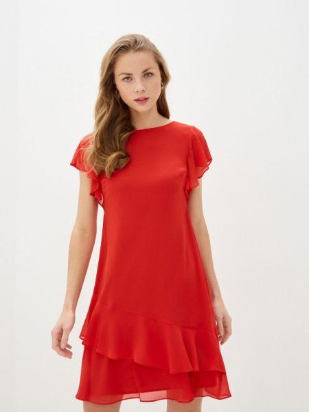Повседневное платье красный весеннее Lauren Ralph Lauren