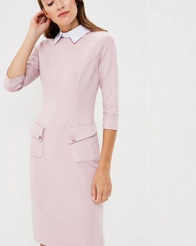 Платье осеннее розовое Vittoria Vicci