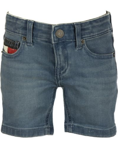 Zielone szorty jeansowe Tommy Hilfiger