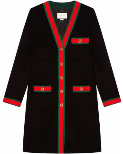 Пальто демисезонное однобортное Gucci
