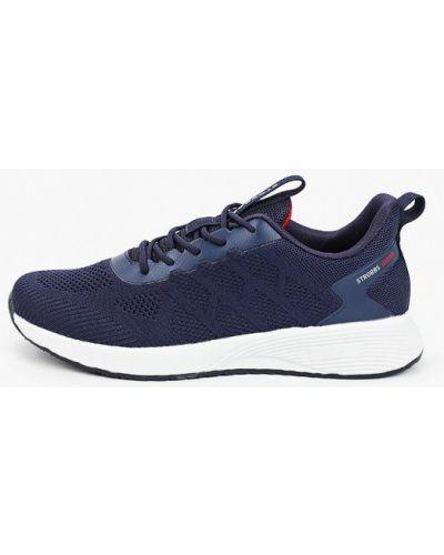 Низкие кроссовки - синие Strobbs