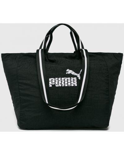 Черная сумка через плечо Puma