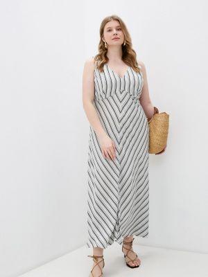 Повседневное серое платье Elena Miro