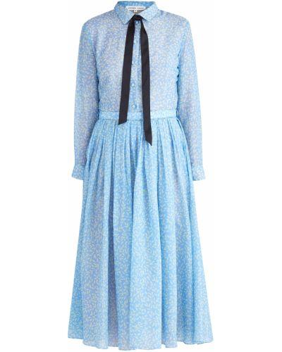 Платье миди на пуговицах с отложным воротником Alexander Terekhov