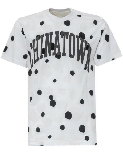 Biały t-shirt Chinatown Market
