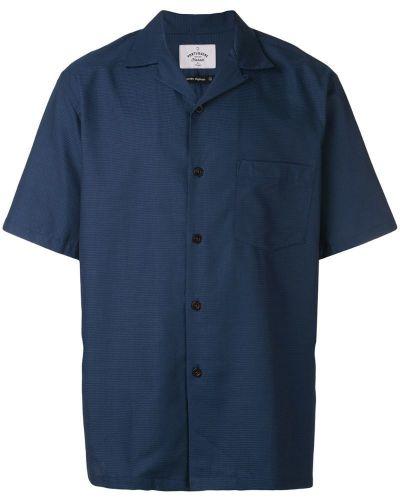 Свободная фланелевая рубашка с короткими рукавами на пуговицах Portuguese Flannel