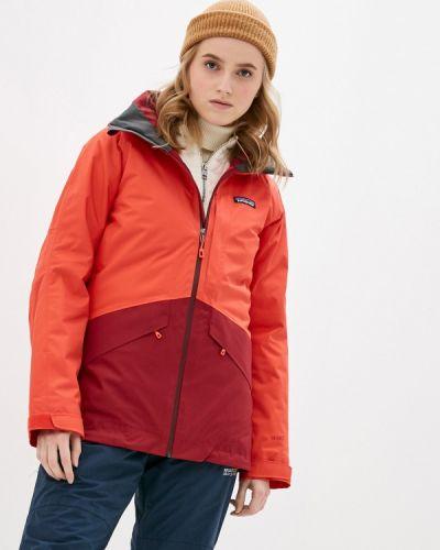 Красная куртка горнолыжная Patagonia