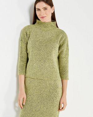 Юбочный костюм зеленый Mkm