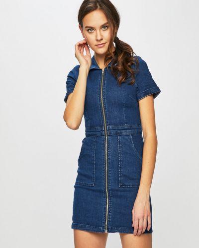 Джинсовое платье мини с карманами Tally Weijl
