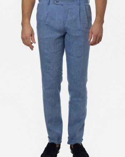 Голубые классические брюки Arber