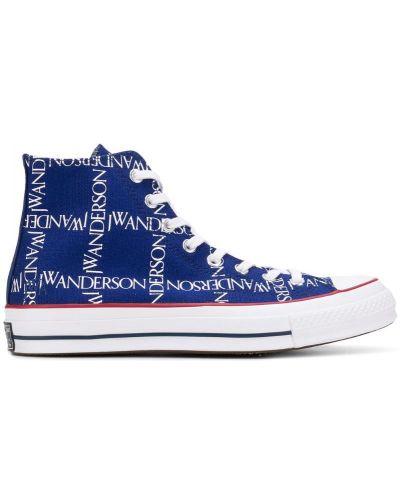 Кроссовки синий Converse X Jw Anderson