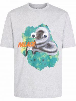 T-shirt z nadrukiem z printem Palace