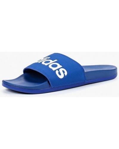 Синие сланцы Adidas