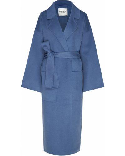 Пальто пальто-халат шерстяное Essentiel Antwerp