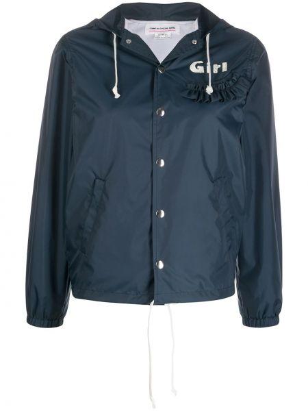 Длинная куртка мятная Comme Des Garçons Girl