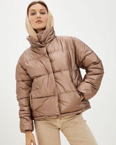 Утепленная куртка - коричневая Love Republic