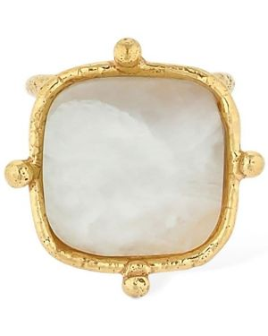 Biały złoty pierścionek Sylvia Toledano
