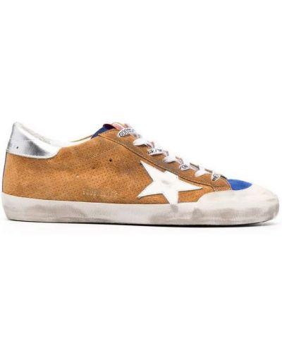 Sneakersy - brązowe Golden Goose